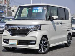 N BOXカスタムG・EXホンダセンシング 元当社デモカー ホンダセンシング