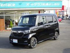 N BOXカスタムG・EXホンダセンシング インターナビBカメラ Sスライドシート