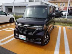 N BOXカスタムG・Lホンダセンシング 軽自動車 メモリーナビ フルセグTV E