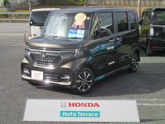 N BOXカスタムG・EXホンダセンシング 当社元デモカー オーディオレス
