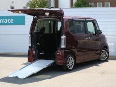 N BOX+カスタムG  車椅子仕様車 ナビ 追突軽減ブレーキ