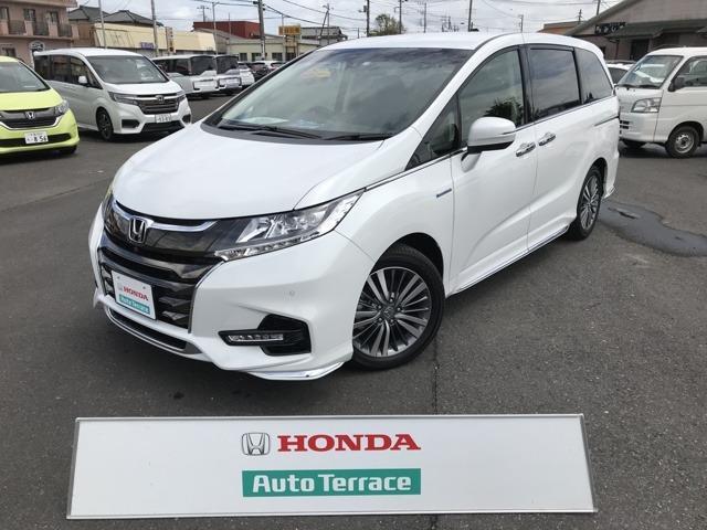 ホンダ ハイブリッドアブソルート・EXホンダセンシング 試乗車