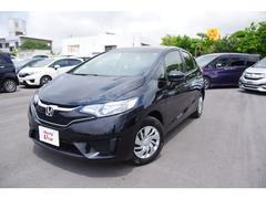 沖縄の中古車 ホンダ フィット 車両価格 141.8万円 リ済別 平成29年 0.7万K ブラックパール