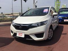 沖縄の中古車 ホンダ フィット 車両価格 142.8万円 リ済別 平成29年 0.5万K ホワイトパール