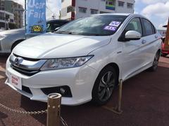 沖縄の中古車 ホンダ グレイス 車両価格 199.8万円 リ済別 平成28年 1.5万K ホワイト