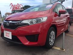 沖縄の中古車 ホンダ フィット 車両価格 136.8万円 リ済別 平成29年 1.0万K レッド