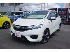 沖縄の中古車 ホンダ フィットハイブリッド 車両価格 169.8万円 リ済別 平成29年 0.6万K ホワイトパール
