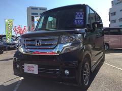 沖縄の中古車 ホンダ N BOXカスタム 車両価格 157.8万円 リ済別 平成29年 0.6万K パープル