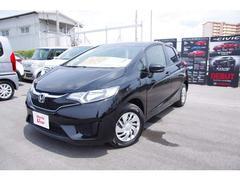 沖縄の中古車 ホンダ フィット 車両価格 142.8万円 リ済別 平成28年 1.0万K ブラックパール