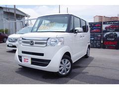 沖縄の中古車 ホンダ N BOX 車両価格 134.8万円 リ済別 平成29年 0.5万K ホワイトパール