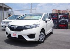 沖縄の中古車 ホンダ フィット 車両価格 127.8万円 リ済別 平成29年 1.0万K ホワイトパール