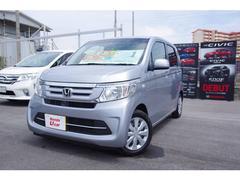 沖縄の中古車 ホンダ N−WGN 車両価格 125.8万円 リ済別 平成28年 0.9万K シルバーメタリック