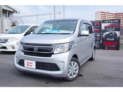 沖縄の中古車 ホンダ N−WGN 車両価格 98.8万円 リ済別 平成26年 1.0万K シルバーメタリック