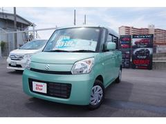 沖縄の中古車 スズキ スペーシア 車両価格 93.8万円 リ済別 平成25年 3.9万K グリーンメタリック