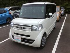 N BOX+G L車いす仕様車 デモカーUP・福祉車両・リアカメラ・CD