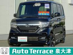 N BOXカスタムG・Lホンダセンシング デモカー 18Mナビ 両電動スライド