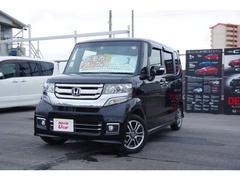 沖縄の中古車 ホンダ N BOXカスタム 車両価格 155.8万円 リ済別 平成29年 0.7万K ブラックパール