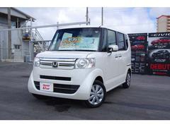 沖縄の中古車 ホンダ N BOX 車両価格 144.8万円 リ済別 平成29年 0.6万K ホワイトパール