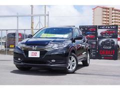 沖縄の中古車 ホンダ ヴェゼル 車両価格 219.8万円 リ済別 平成29年 0.8万K ブラックパール