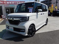 N BOXカスタムG・Lターボホンダセンシング Mナビ 両パワードア デモカー