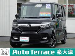 N BOXカスタムG・Lホンダセンシング デモカー 18Mナビ オートクルーズ