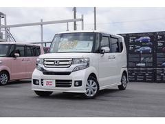 沖縄の中古車 ホンダ N BOXカスタム 車両価格 150.8万円 リ済別 平成28年 1.1万K ホワイトパール