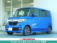 N BOXカスタムG・Lホンダセンシング デモカー・ナビ衝突軽減ブレーキETC