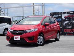 沖縄の中古車 ホンダ フィット 車両価格 136.8万円 リ済別 平成29年 0.6万K レッド