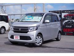 沖縄の中古車 ホンダ N−WGN 車両価格 98.8万円 リ済別 平成27年 2.0万K シルバーメタリック