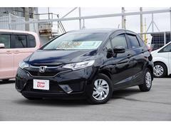 沖縄の中古車 ホンダ フィット 車両価格 138.8万円 リ済別 平成29年 0.6万K ブラックパール