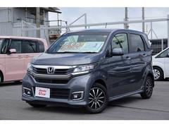 沖縄の中古車 ホンダ N−WGNカスタム 車両価格 147.8万円 リ済別 平成29年 0.7万K グレーメタリック
