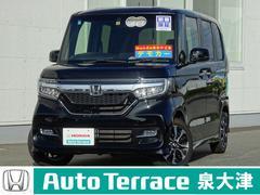 N BOXカスタムG・EXホンダセンシング デモカー 8インチナビ Sスライド