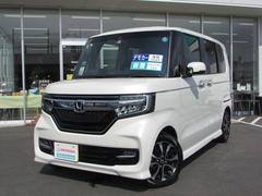 N BOXカスタムG・Lホンダセンシング 当社元デモカー ベンチシート ETC