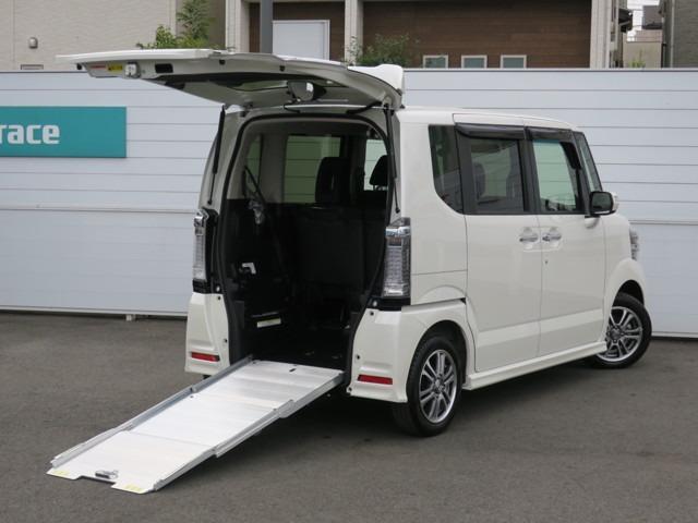 ホンダ G 車椅子仕様車 左側電動スライドドア 追突軽減ブレーキ