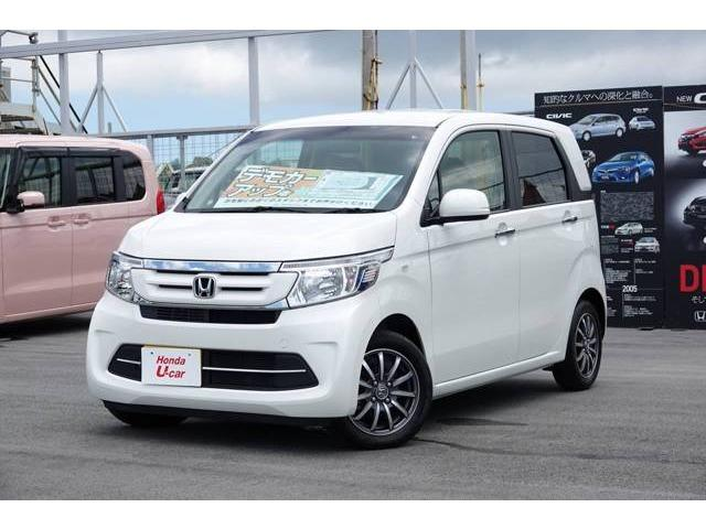 沖縄の中古車 ホンダ N-WGN 車両価格 147.8万円 リ済別 平成29年 0.3万km ホワイトパール