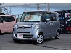 沖縄の中古車 ホンダ N BOX 車両価格 134.8万円 リ済別 平成29年 0.6万K シルバーメタリック