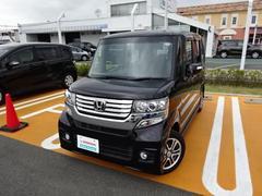 N BOXカスタムG・Lパッケージ 軽自動車 メモリーナビ ETC