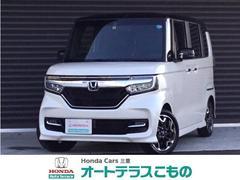 N BOXカスタムG・Lターボホンダセンシング 当社デモカー ギャザズナビ