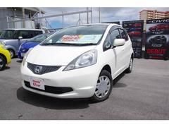 沖縄の中古車 ホンダ フィット 車両価格 39.8万円 リ済別 平成20年 6.8万K ホワイトパール
