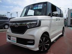 N BOXカスタムG・Lホンダセンシング 元デモカー オーディオレス