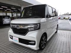 N BOXカスタムG・EXホンダセンシング 試乗車デモカー自動ブレーキドラレコ