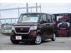沖縄の中古車 ホンダ N BOX 車両価格 170.8万円 リ済別 平成29年 0.3万K ブラウンパール