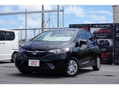 沖縄の中古車 ホンダ フィット 車両価格 130.8万円 リ済別 平成29年 0.7万K ブラックパール