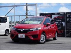 沖縄の中古車 ホンダ フィット 車両価格 130.8万円 リ済別 平成29年 0.8万K レッド