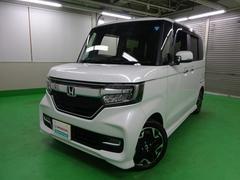 N BOXカスタムG・Lターボホンダセンシング   ホンダギャザーズナビ/TV