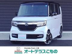 N BOXカスタムG・Lターボホンダセンシング 当社デモカー ギャザズナビ 両