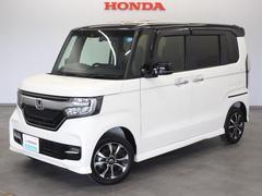N BOXカスタムG・Lホンダセンシング 当社デモカー メモリーナビ リヤカメ