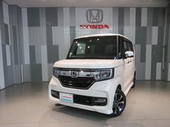 N BOXカスタムG・Lホンダセンシング 当社デモカー ギャザスメモリーナビ