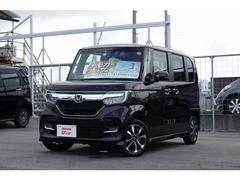 沖縄の中古車 ホンダ N BOXカスタム 車両価格 182.8万円 リ済別 平成29年 0.4万K パープルパール