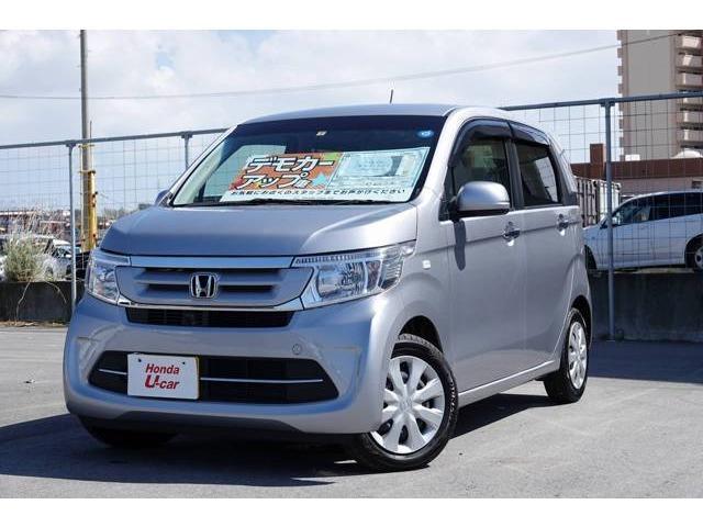 沖縄の中古車 ホンダ N-WGN 車両価格 126.8万円 リ済別 平成30年 0.2万km シルバーメタリック